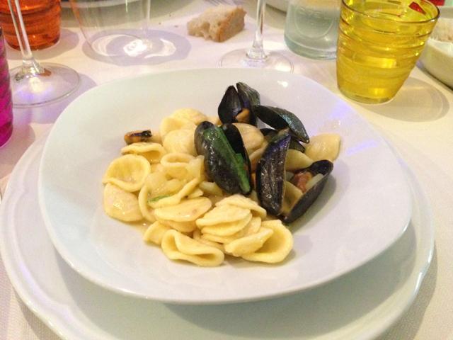 Little Ears Pasta Italian Food in Puglia