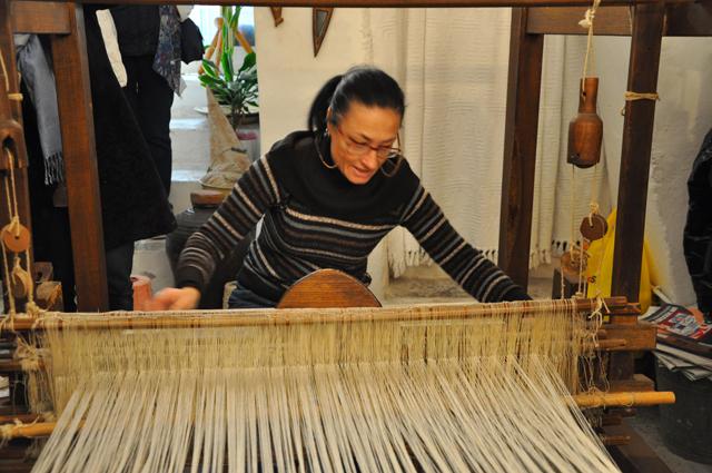 Weaving Vico del Gargano Italy