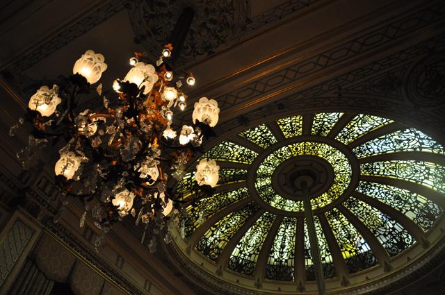 Baden Baden Casino Ceiling