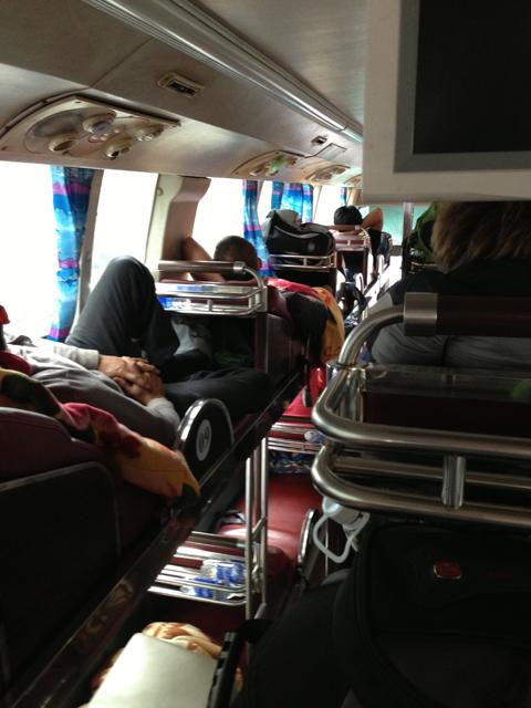 Bus Journey Vietnam