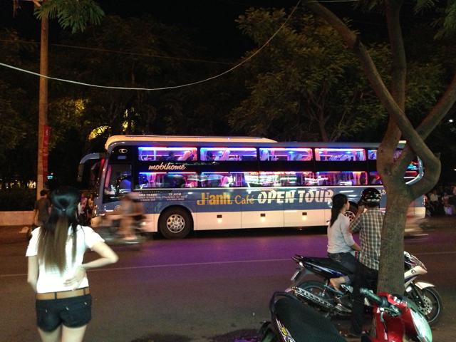 Night Bus Ho Chi Minh City to Nha Trang