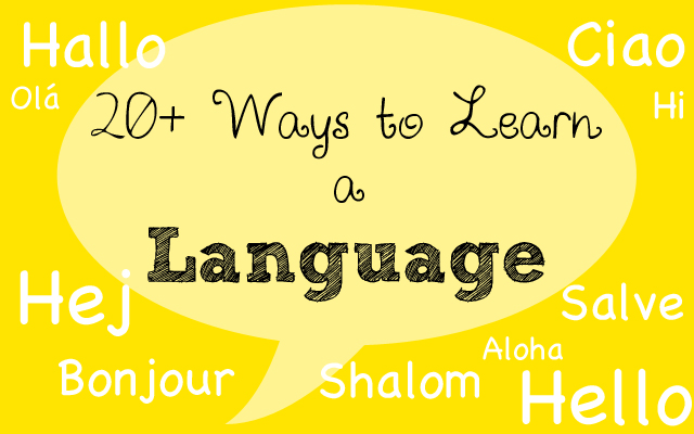Ways to Learn a Language