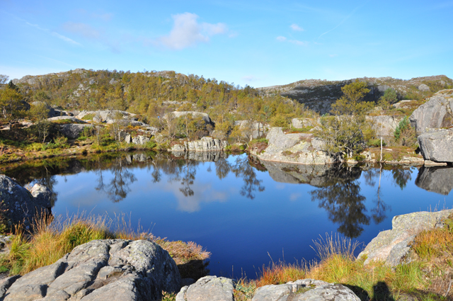 Hiking Route to Preikestolen