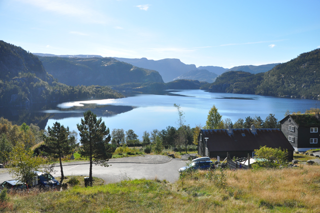 Lake at Preikestolen Mountain Lodge