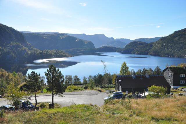 Lake at Preikestolen Mountain Lodge