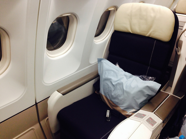 Air France Business Class Seat