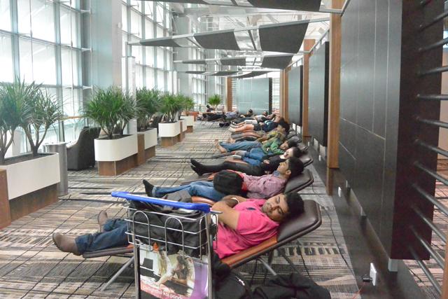 Changi Airport Snooze Zone