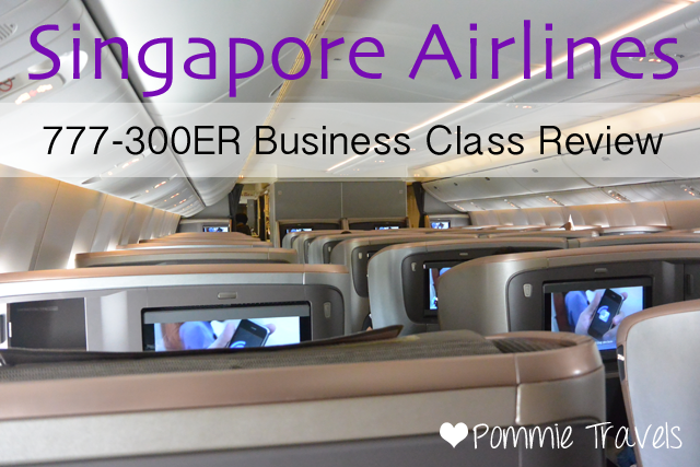 Singapore Airlines 777 300er Business Class Review