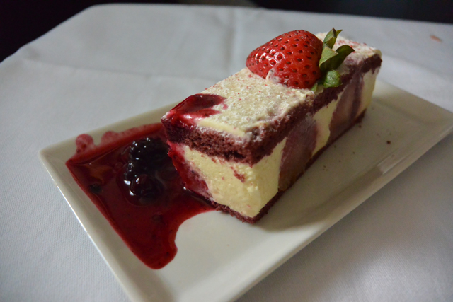 Singapore Airlines Cheescake