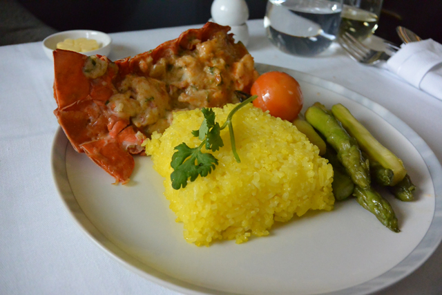 Singapore Airlines Lobster Thermidor
