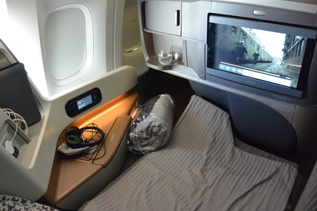 Singapore Airlines New Flat Bed Business Class 777-300ER
