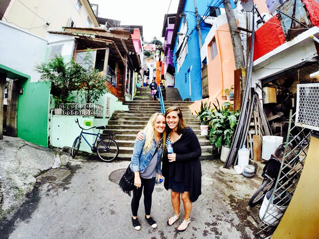 Santa Marta Favela Rio de Janeiro Brazil