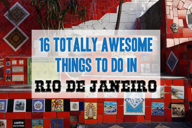 Rio de Janeiro Things To Do