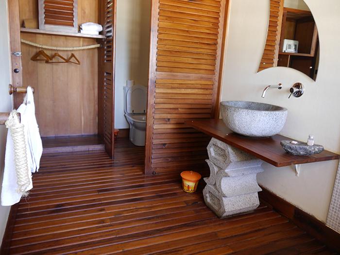 Hotel Palissandre Bathroom Madagascar