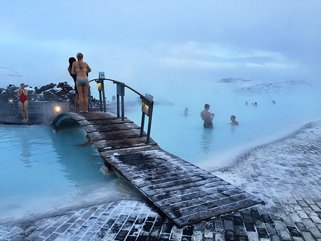 The Blue Lagoon Iceland- is it really that blue?