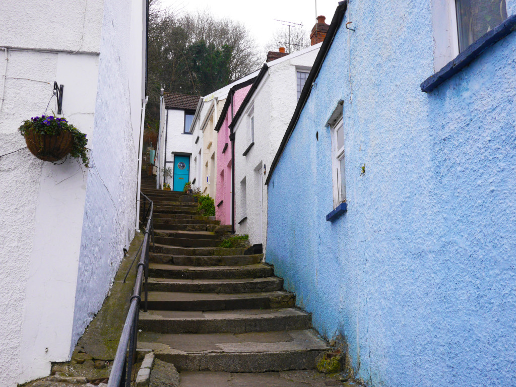 Mumbles Colourful houses