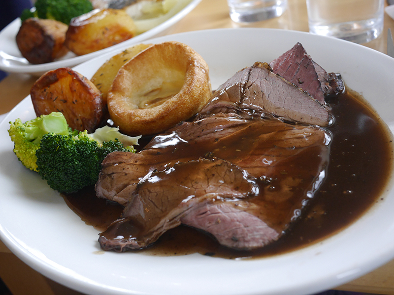Sunday Roast at Worms Head Hotel Gower