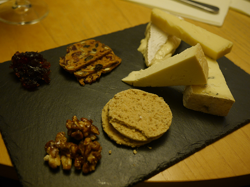 Welsh Cheeses Grape and Olive