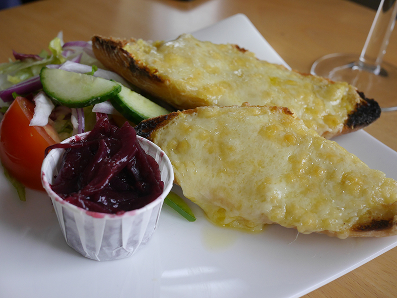 Welsh Rarebit at Worm's Head Hotel Gower