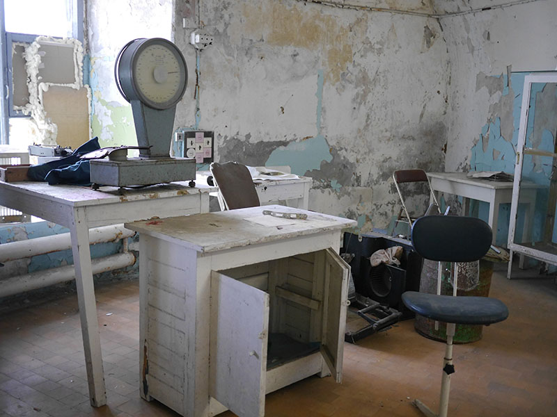 Patarei Prison Hospital Room