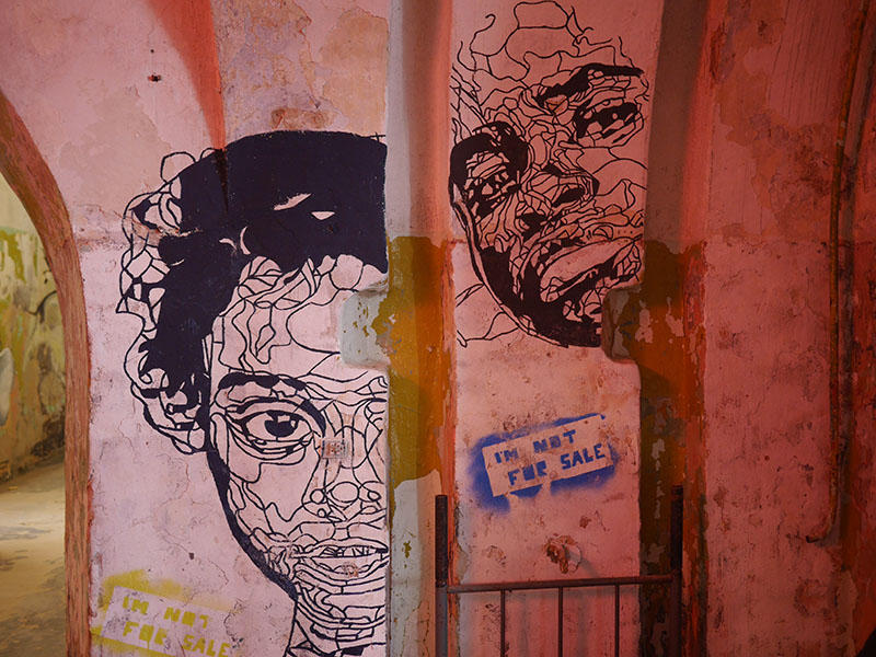 Patarei Abandoned Prison Mural