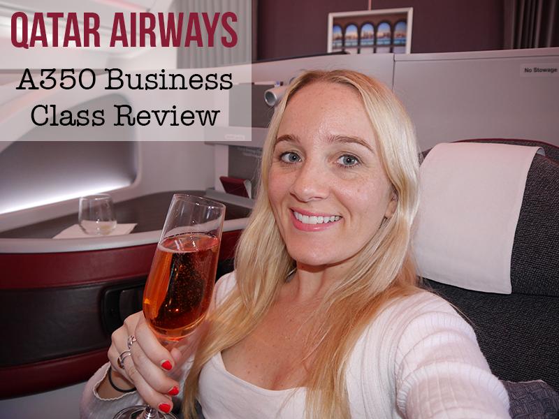 Qatar Airways A350 Business Class Review