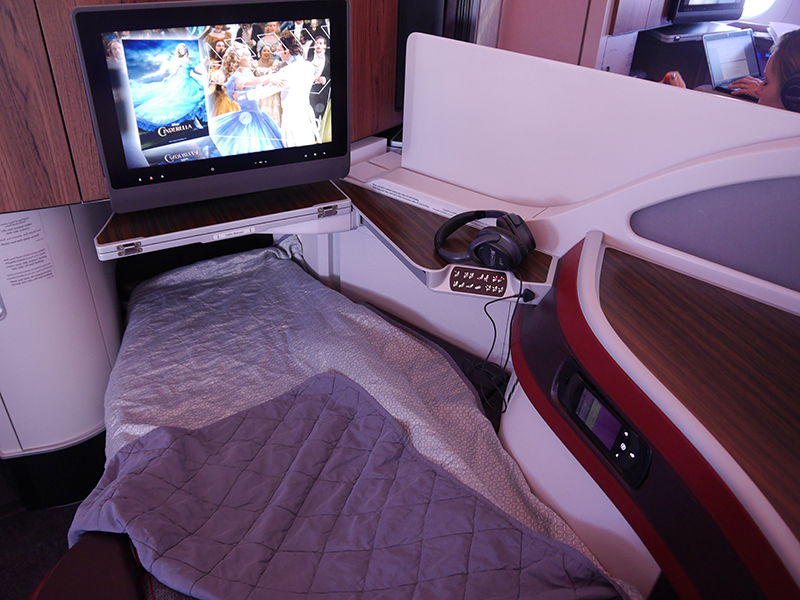 Qatar Airways Business Class Bed A350 XWB