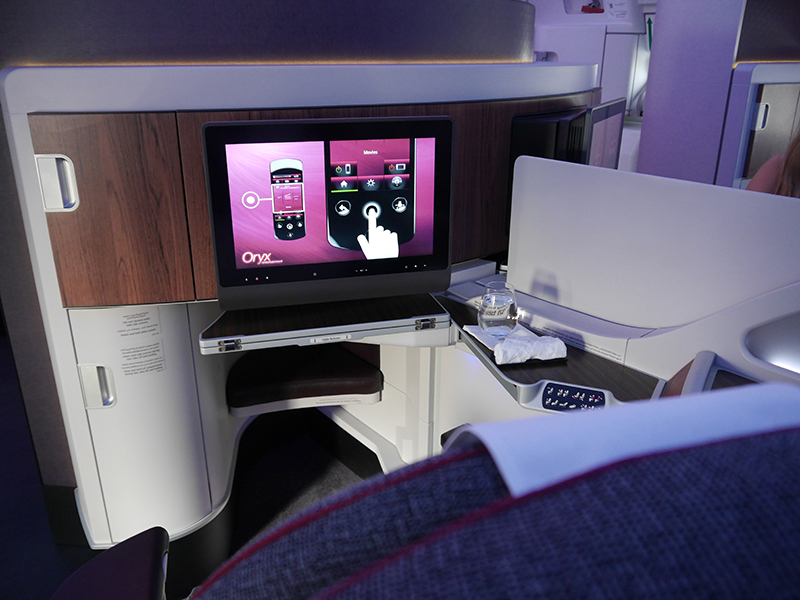 Qatar Airways Business Class Seat 7E A350 XWB