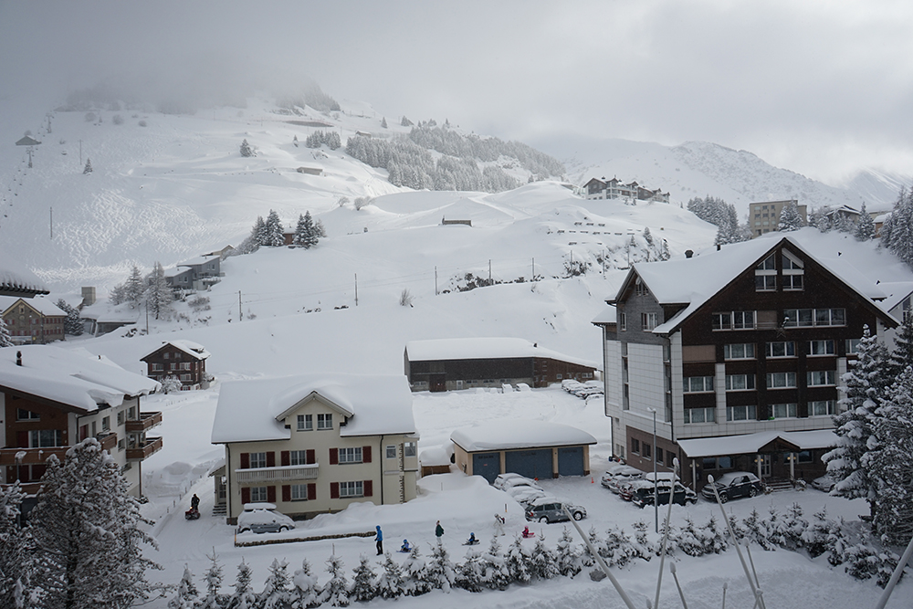 Andermatt Switzerland - Swiss Alps Ski Resort