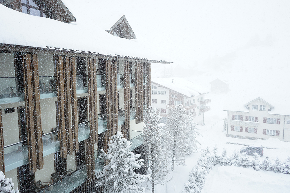 The Chedi Room View of The Alps