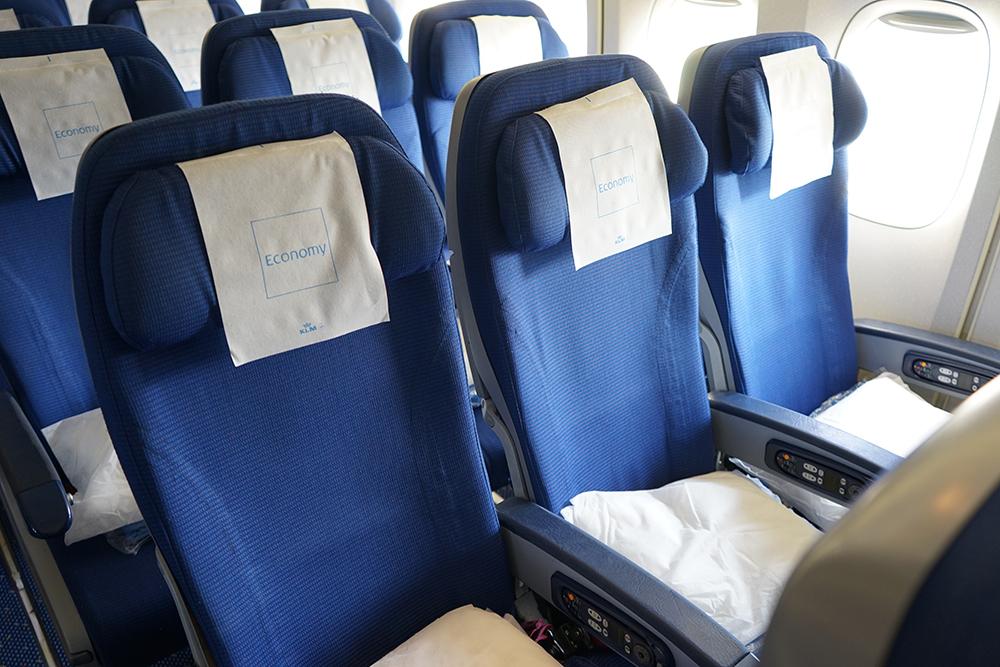 KLM Economy Seat