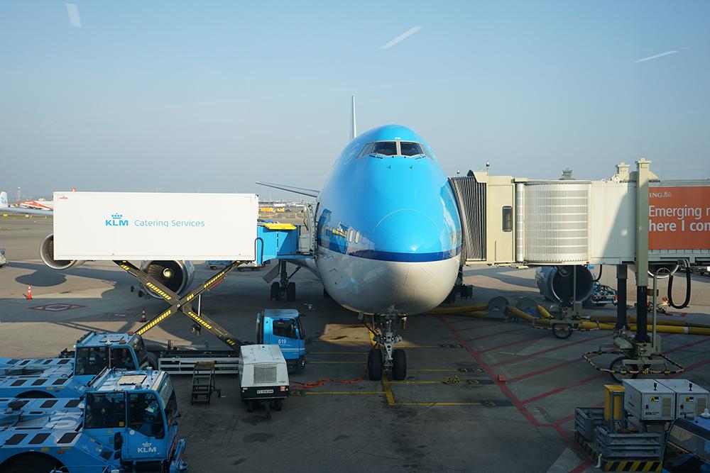 KLM Plane - 747