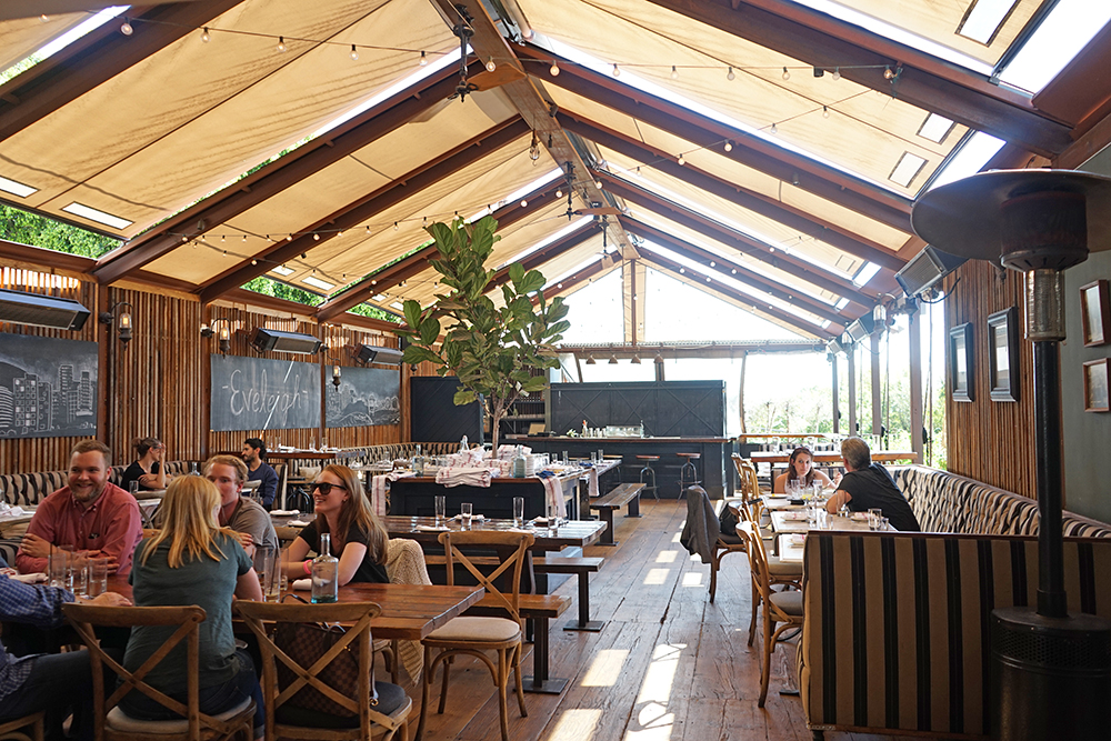 Eveleigh on Sunset - Restaurant with outdoor patio in Los Angeles