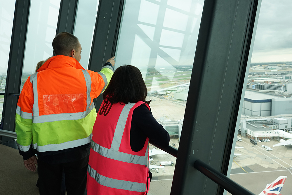Heathrow Airport Control Tower