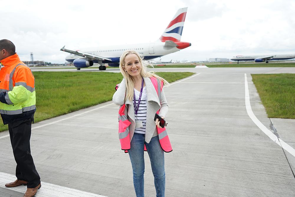 Planespotting Heathrow Airport