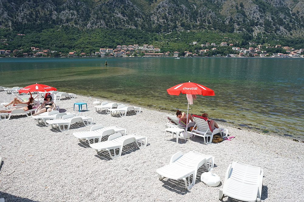 Kotor Beach Montenegro