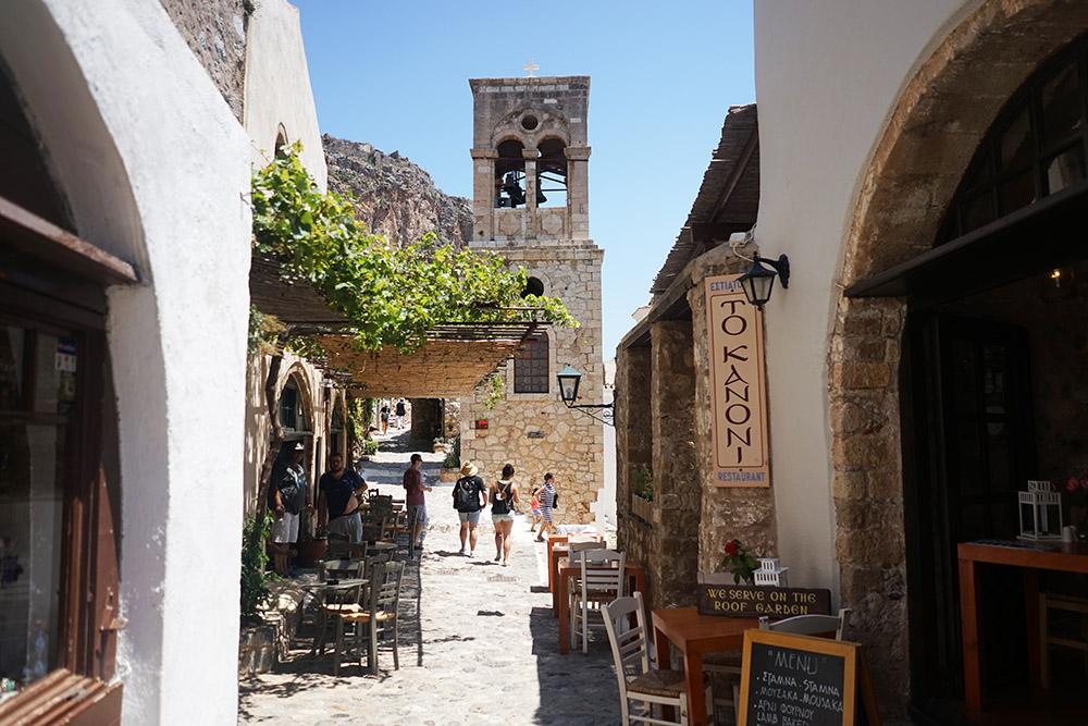 Monemvasia Town Greece