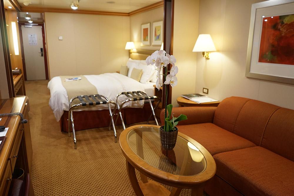 Silversea Cruises Veranda Suite