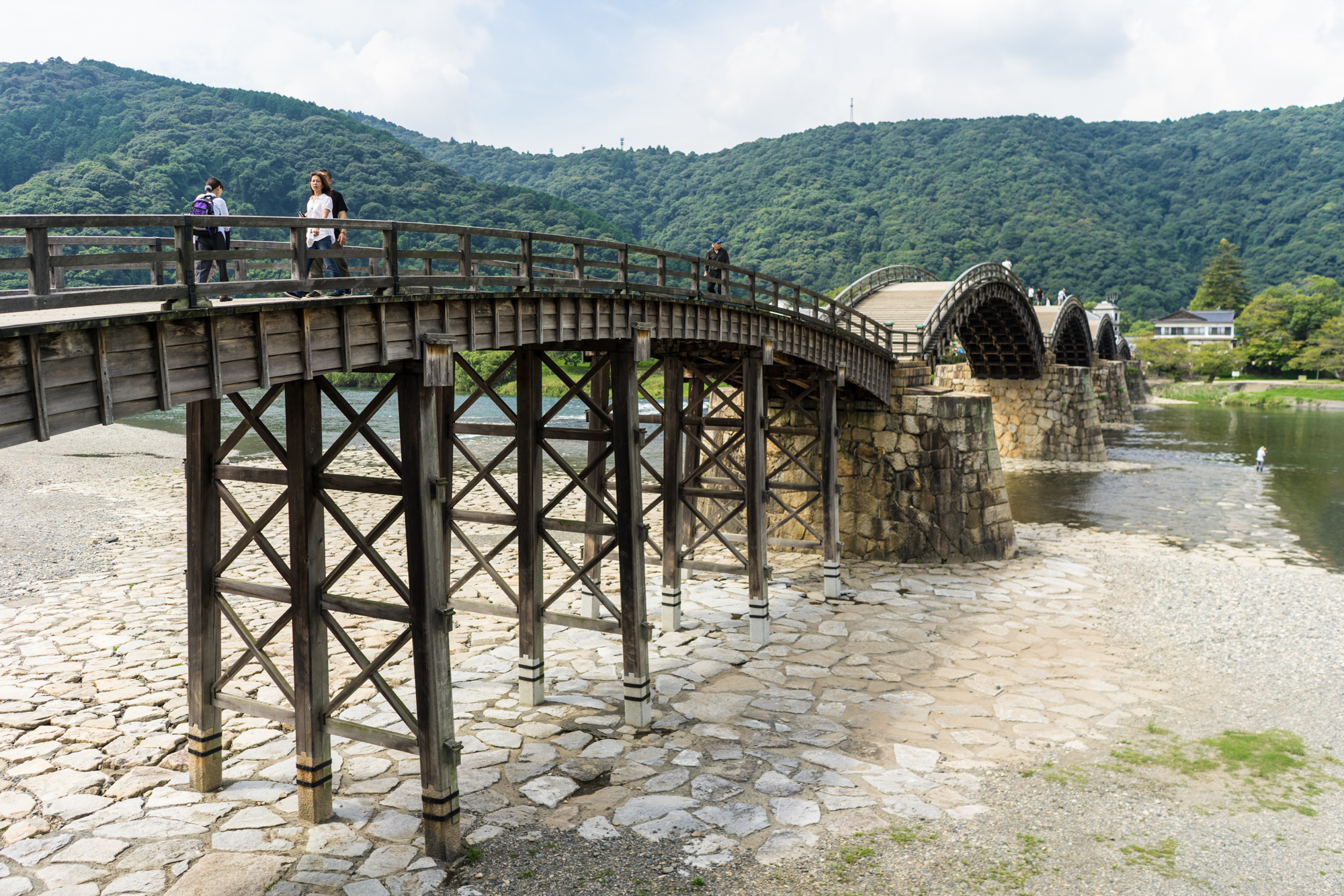 Kintaikyo Bridge - things to do in Yamaguchi prefecture