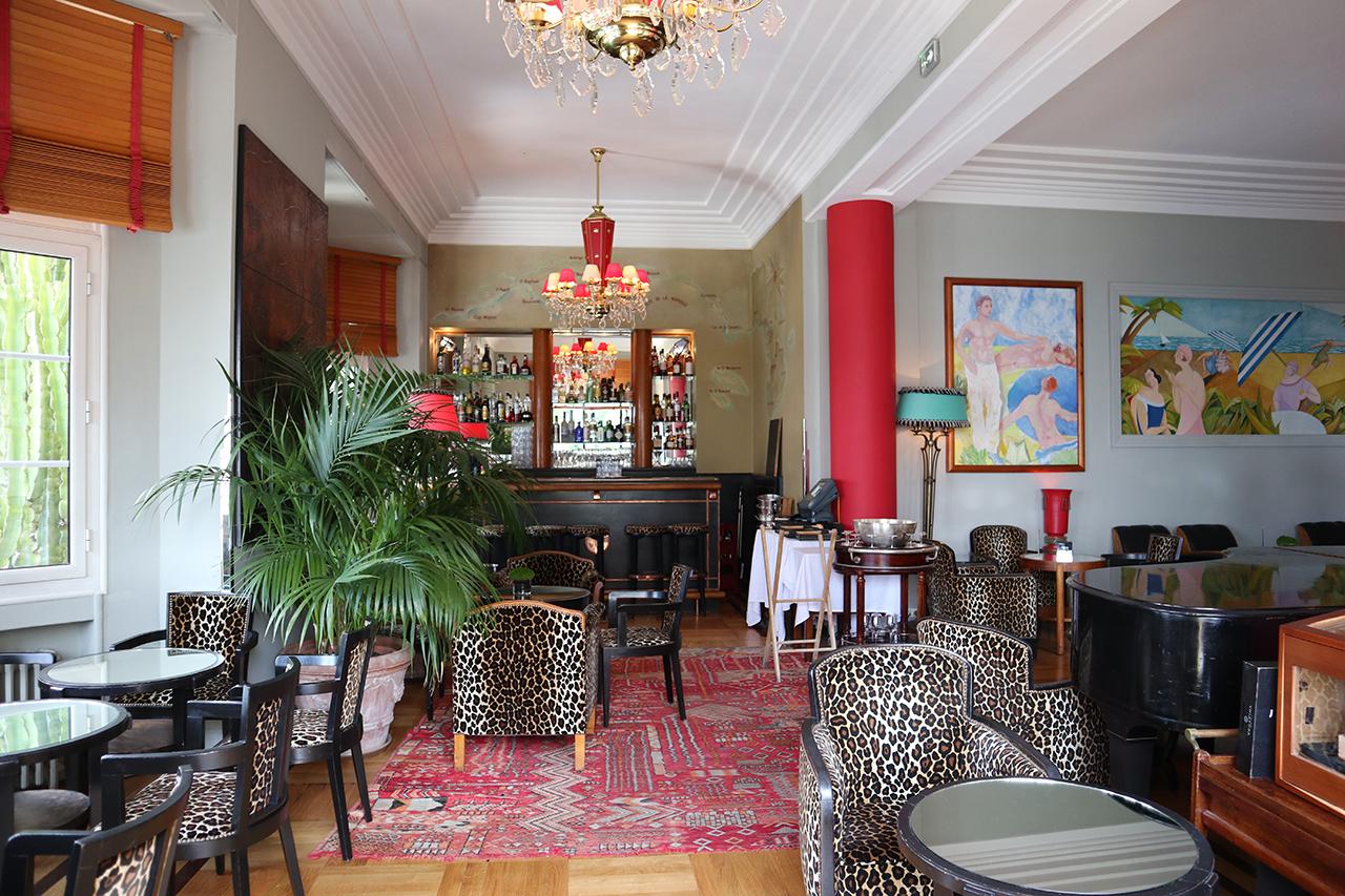Fitzgerald Piano Bar - Hotel Belle Rives, Juan le Pins