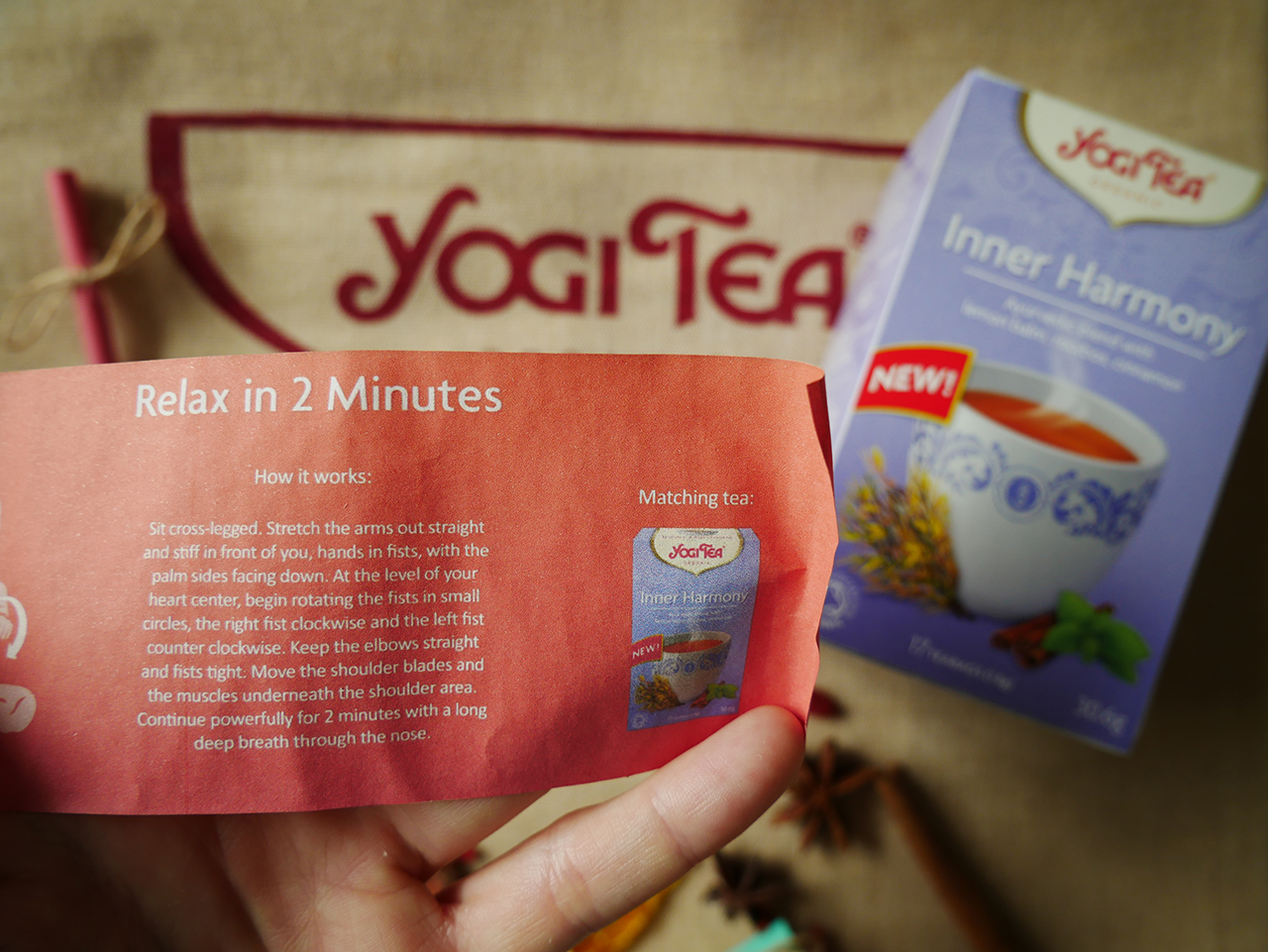 Yogi Tea Meditation Excercises