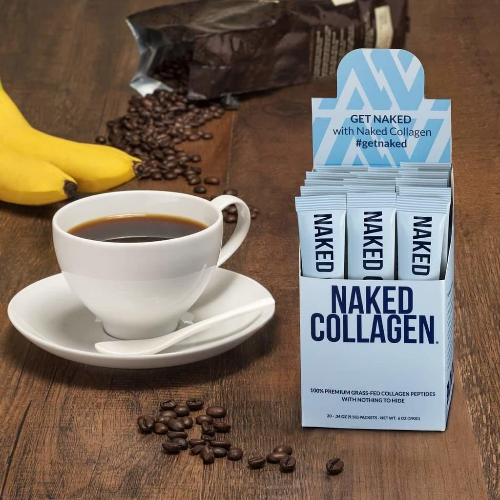 naked nutrition collagen peptides packets